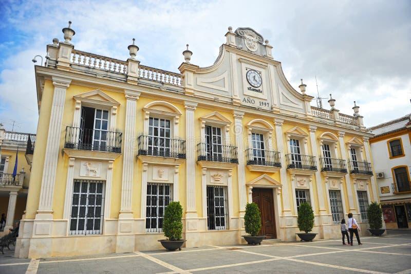 Urząd Miasta Cabra w prowinci cordoba, Hiszpania zdjęcia royalty free