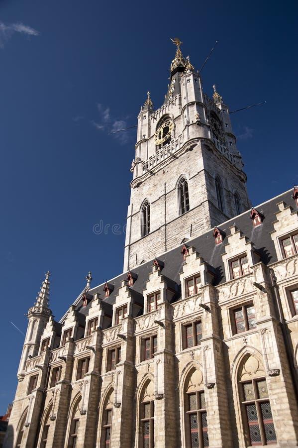 Urząd miasta Ghent obraz royalty free