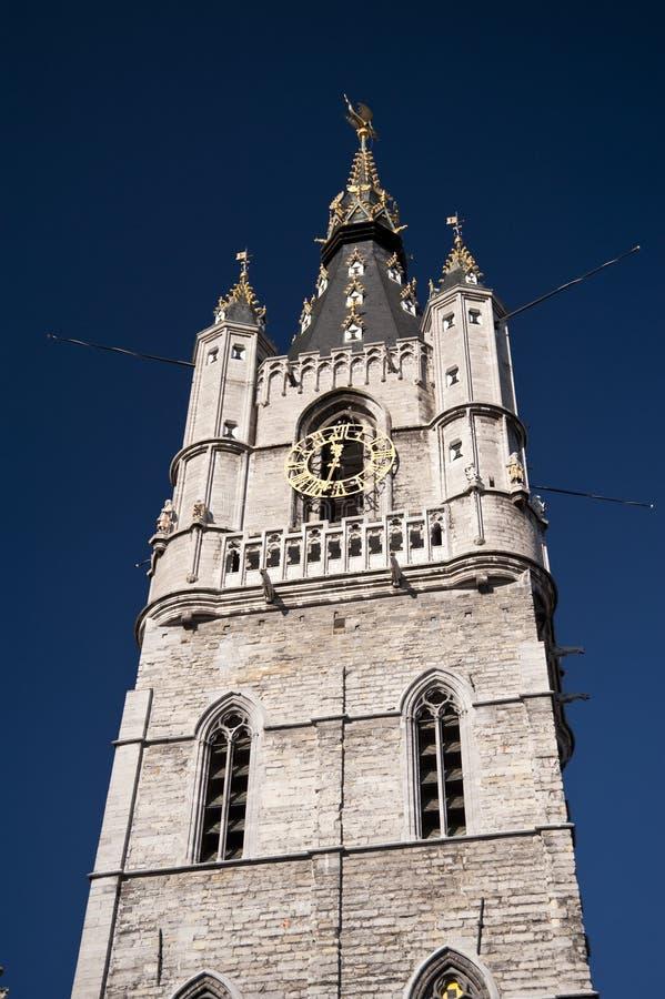 Urząd miasta Ghent obraz stock