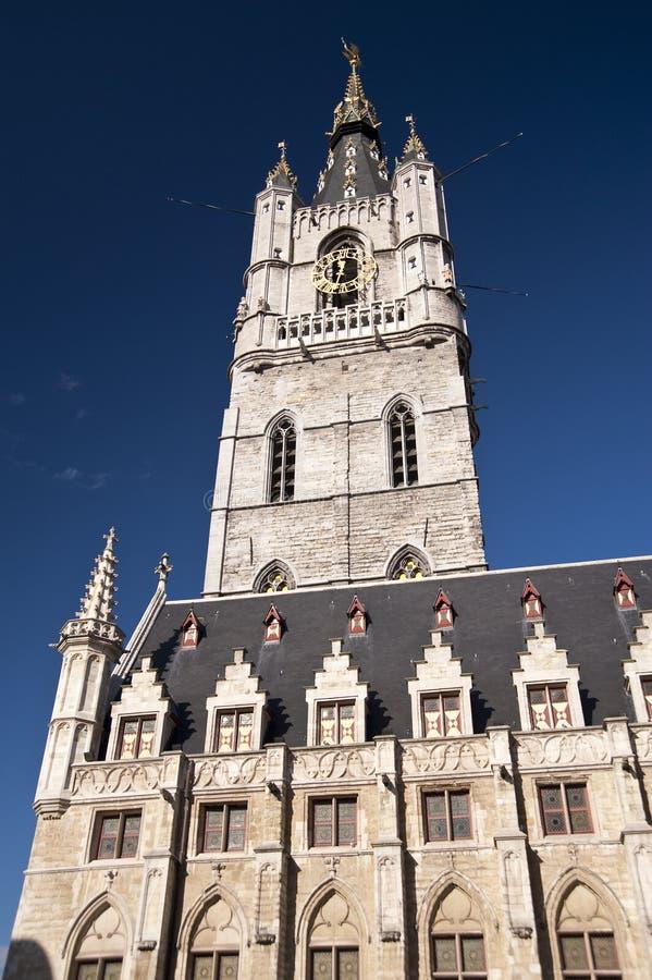 Urząd miasta Ghent fotografia stock