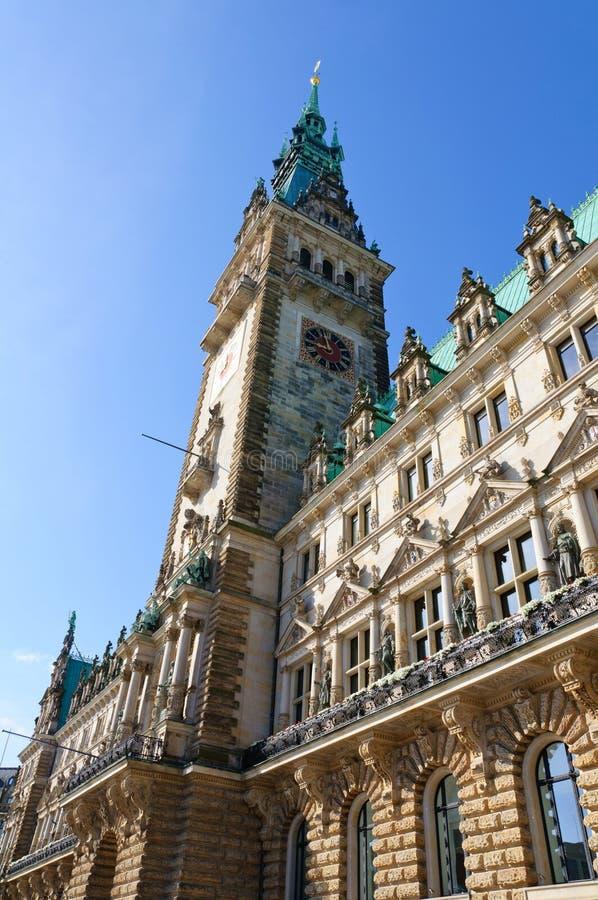 Urząd miasta Hamburg obrazy royalty free