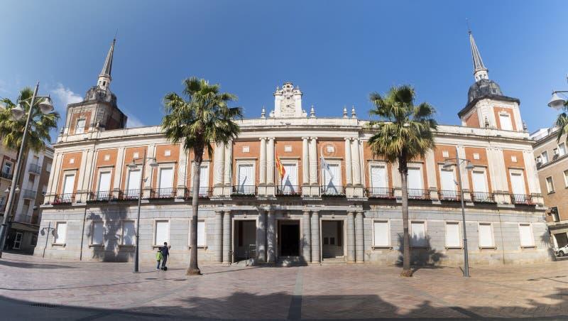 Urząd Miasta Huelva miasto zdjęcia royalty free