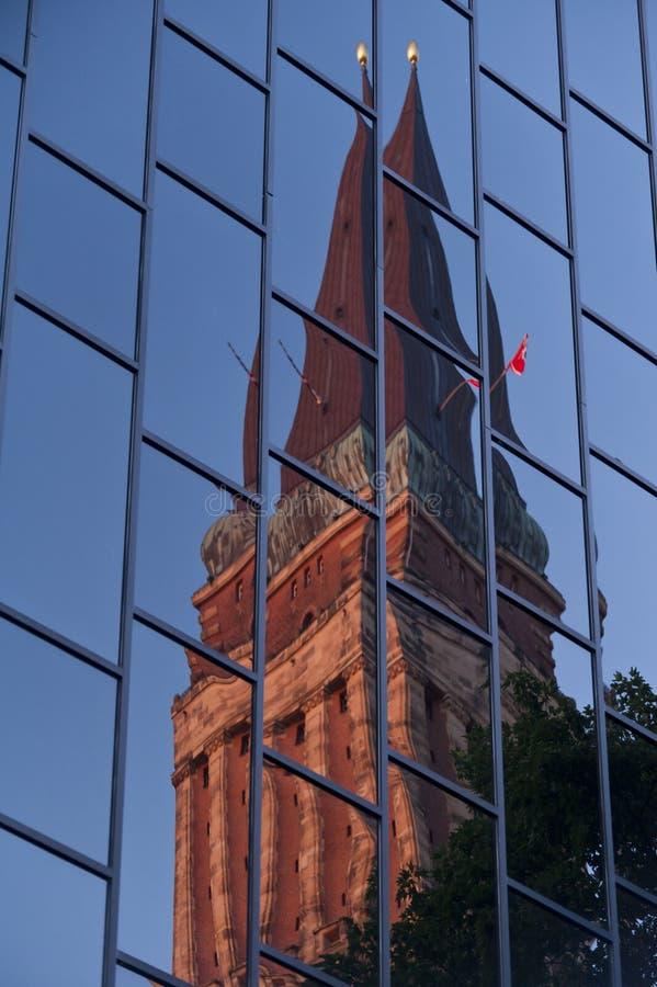 Urząd Miasta Kiel zdjęcie stock
