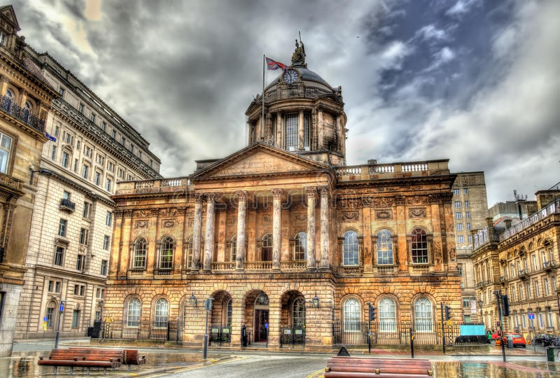 Urząd Miasta Liverpool fotografia stock