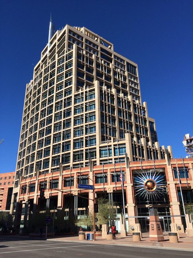 Urząd Miasta, Phoenix, AZ obrazy stock