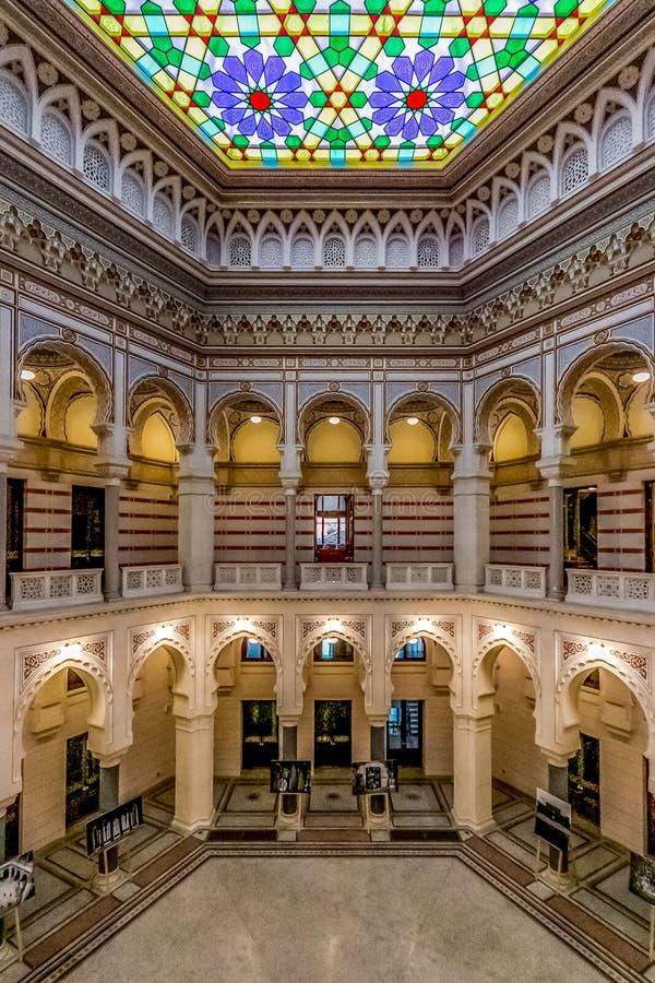 Urząd Miasta Sarajevo, Bośnia i Herzegovina, fotografia stock