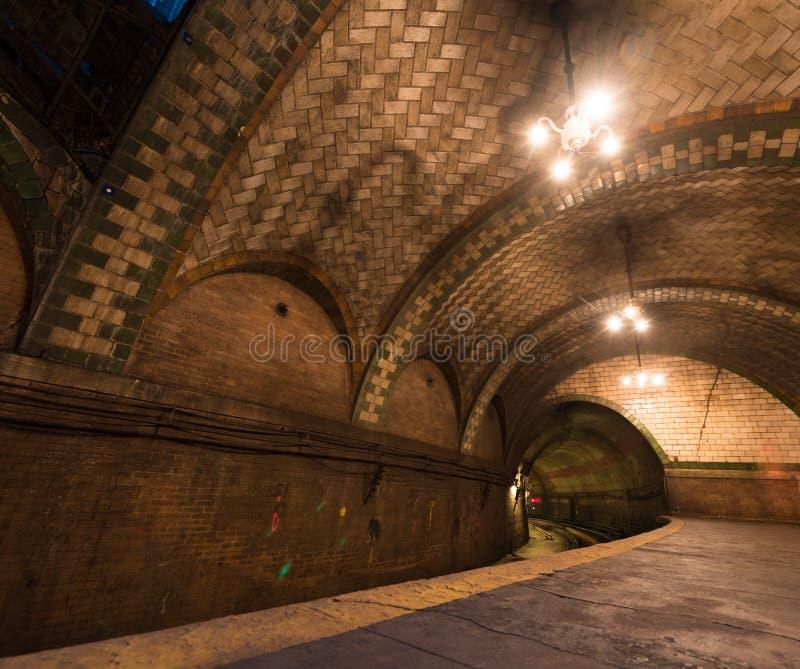 Urząd Miasta stacja - Miasto Nowy Jork fotografia royalty free