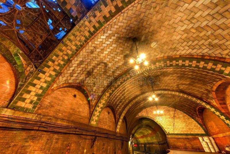 Urząd Miasta stacja - Miasto Nowy Jork zdjęcia stock