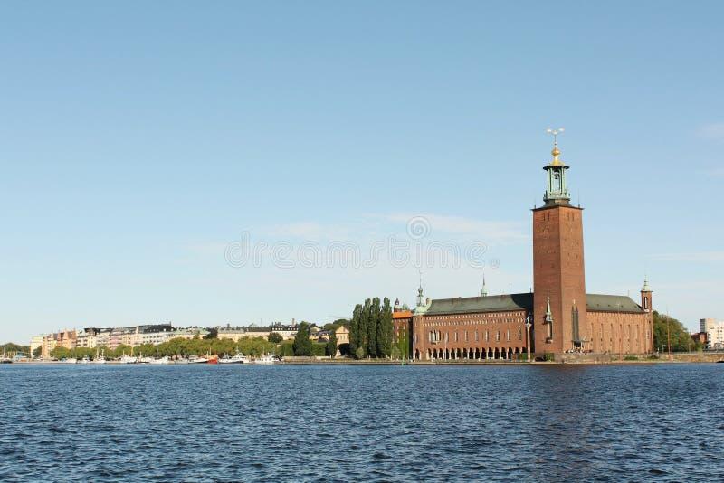 urząd miasta Stockholm obrazy stock