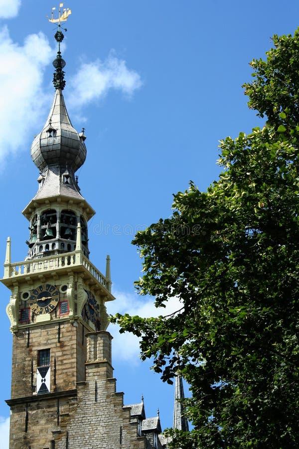 Urząd miasta Veere fotografia stock