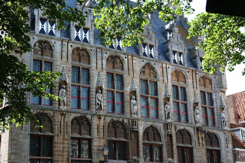 Urząd miasta Veere zdjęcie stock