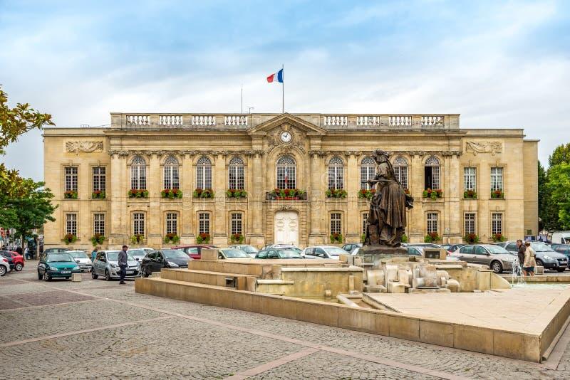 Urząd miasta w Beauvais fotografia stock