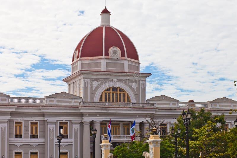 Urząd Miasta w Cienfuegos fotografia royalty free