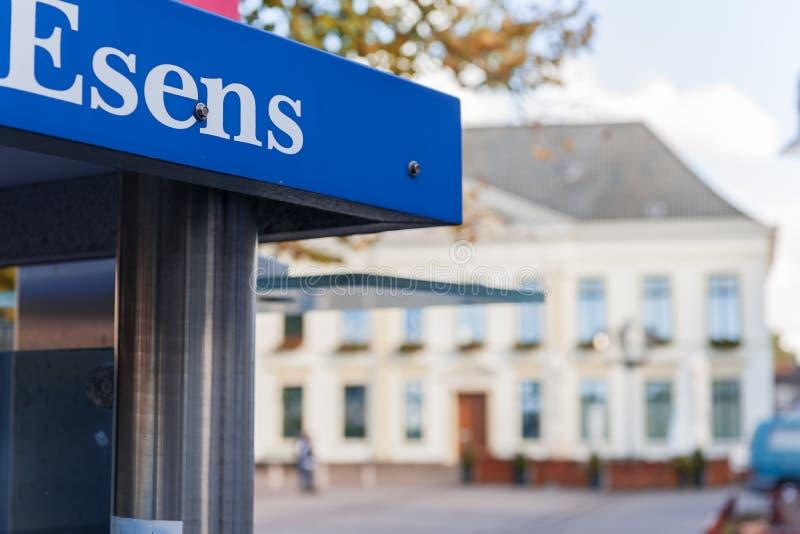 Urząd Miasta w Esens zdjęcie royalty free