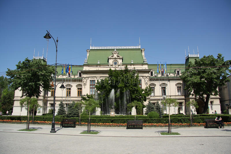 Urząd Miasta w Iasi (Rumunia) obrazy stock