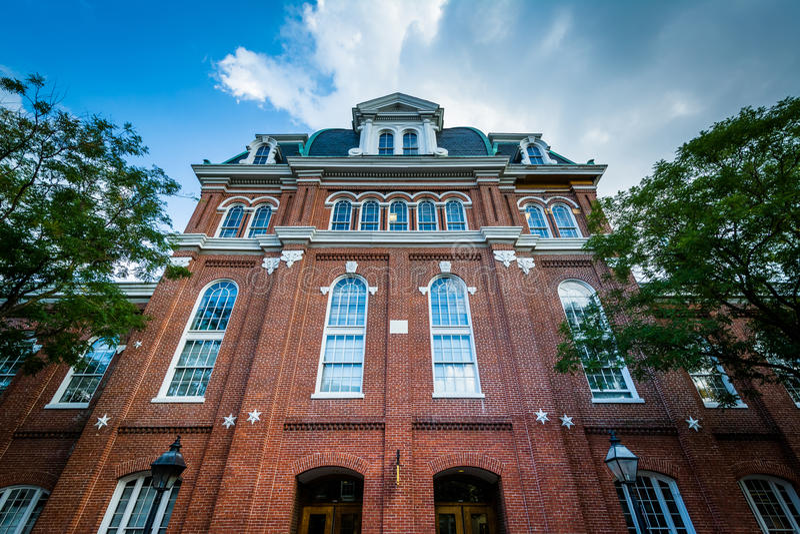 Urząd Miasta, w Starym miasteczku Aleksandria, Virginia zdjęcia stock