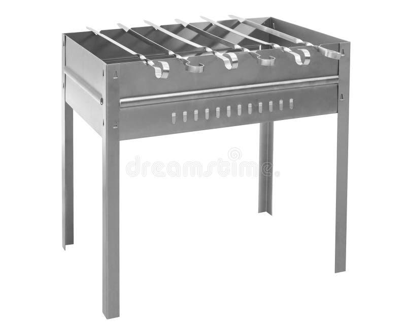 urządzenia grilla skewer zdjęcia royalty free