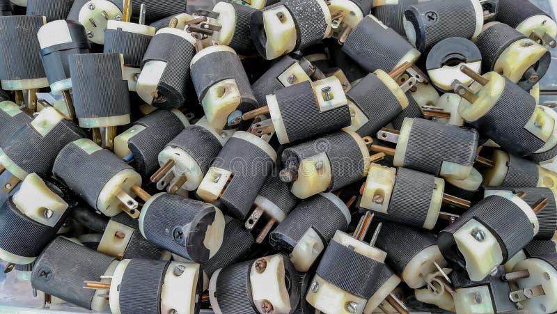 Urządzenie, kabel, pojęcia, Domowy życie, elektryczność zdjęcie royalty free