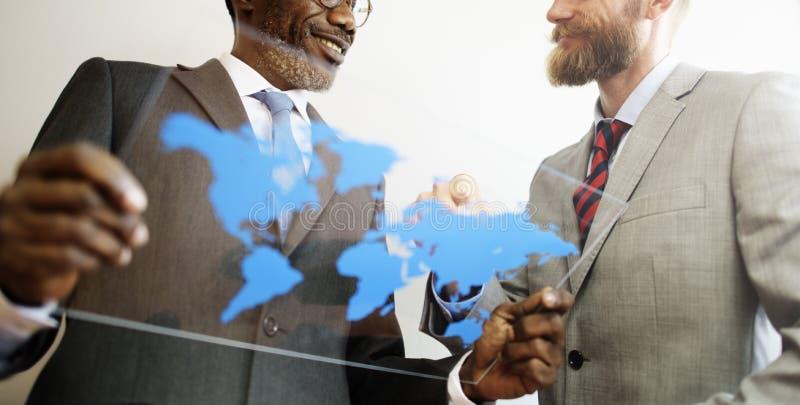 Urzędniczego pracownika spotkania organizacji biura pojęcie zdjęcia royalty free
