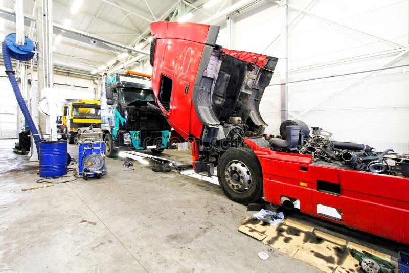 usługowa ciężarówka obrazy stock
