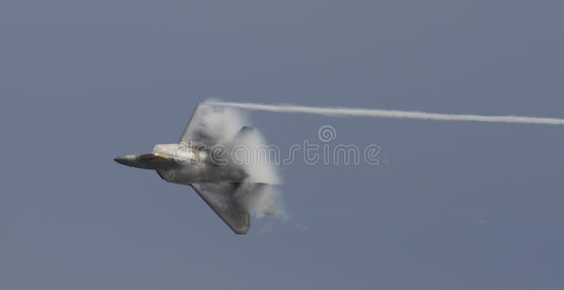 US Air Force F-22 Raptor royalty free stock photo