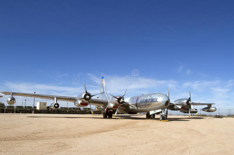 US Air Force Plane. Vintage US Air Force Plane on display royalty free stock photo