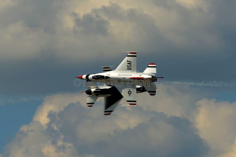 US Air Force Thunderbirds royalty free stock image