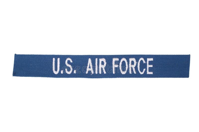 US AIR FORCE uniform badge stock images