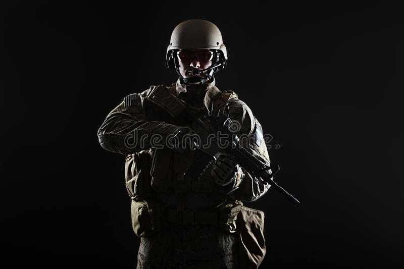 US Army Green Beret royalty free stock images