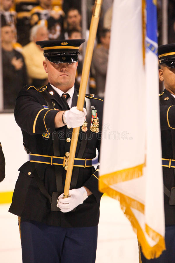 US Army Honor Guard Editorial Stock Photo