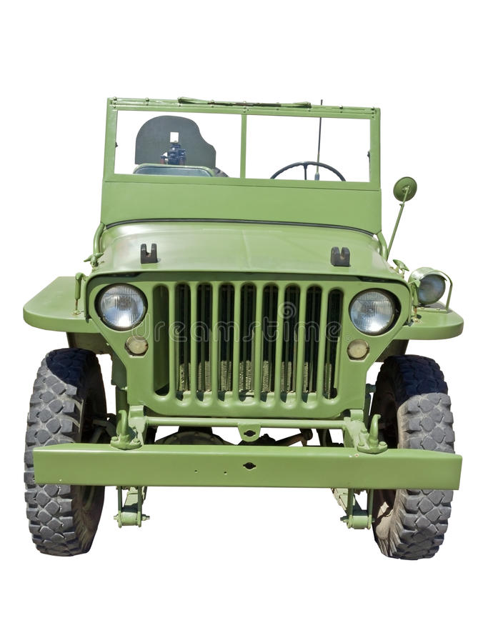 US army jeep. World war 2 era US army jeep stock photos