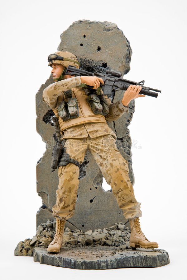Download US Army Solider stock photo. Image of brave, figurine - 3806202
