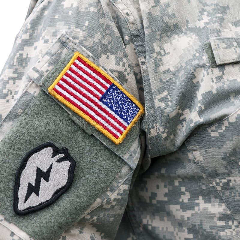 US army uniform royalty free stock image