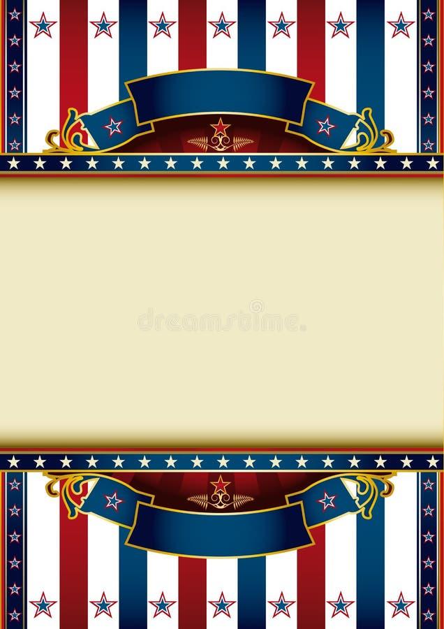 US background theme stock image