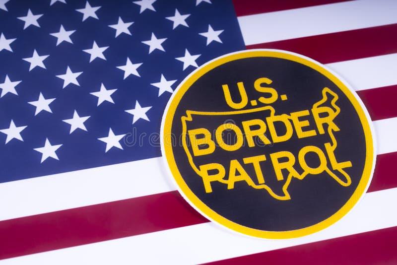 US Border Patrol stock photo