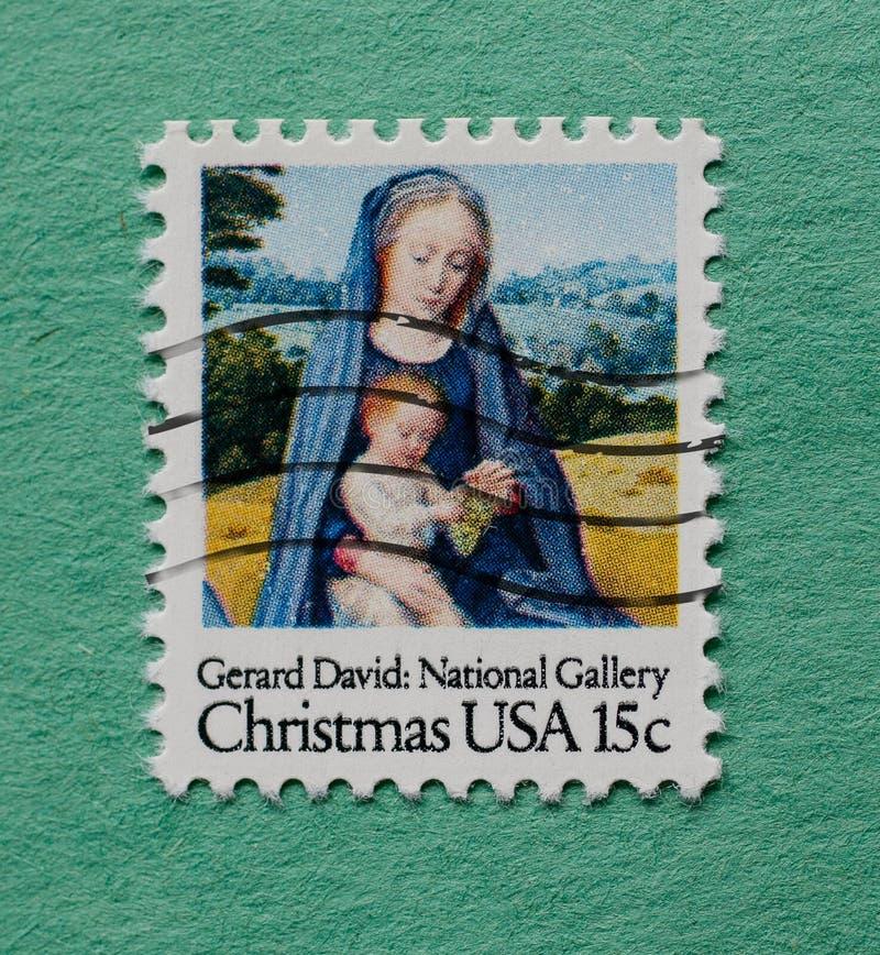 US-Briefmarke lizenzfreie stockbilder