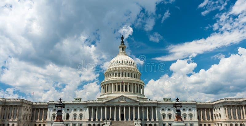 US capital building, Washington DC.  royalty free stock image