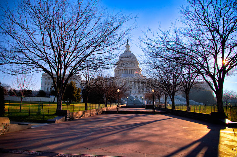Download US Capitol building stock photo. Image of american, united - 23156432