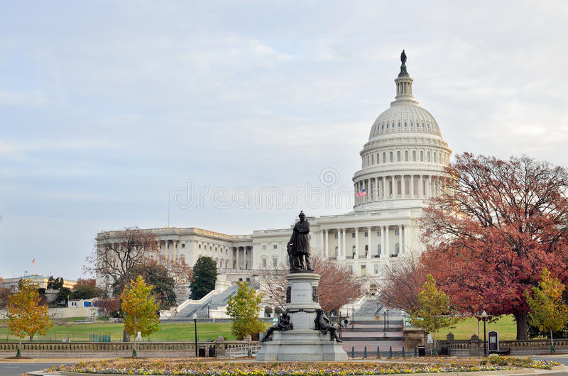 Download US Capitol Building In Autumn, Washington DC, USA Stock Photo - Image: 23026598