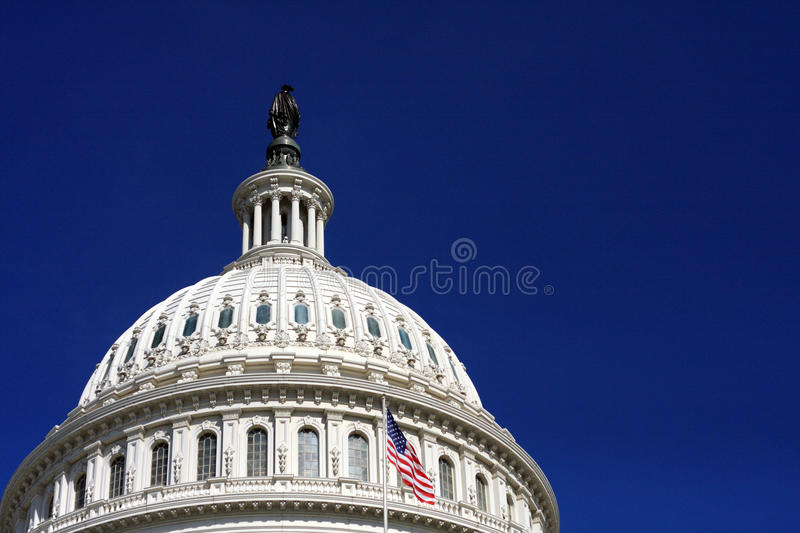 The US Capitol Building Dome Stock Photos