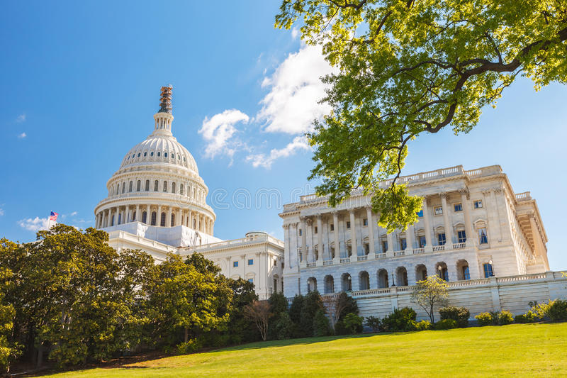 US Capitol and capitol hill. Washington DC stock images