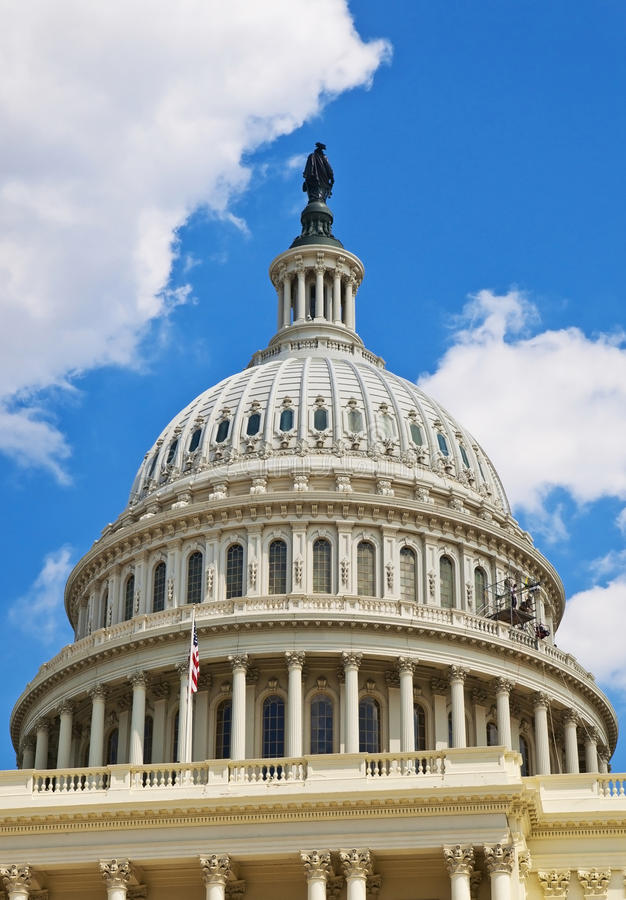 Download US Capitol Dome stock photo. Image of architecture, statue - 17269368