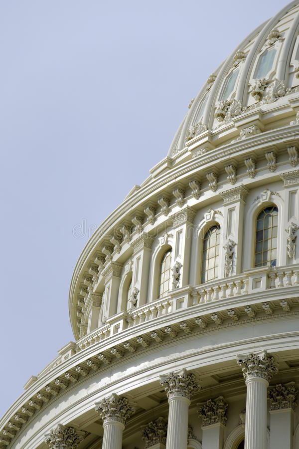 US Capitol Dome Detail Stock Images