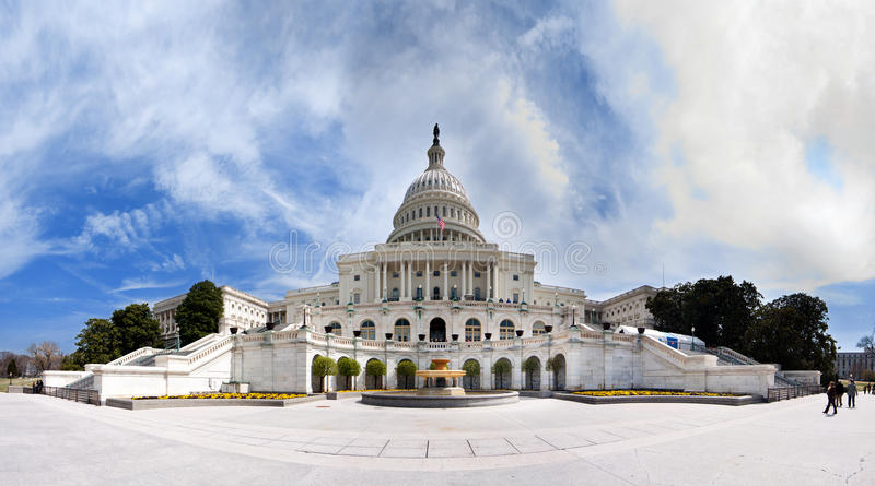 US Capitol - Government building stock image