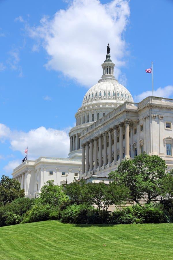 US Capitol. US National Capitol in Washington, DC. American landmark royalty free stock photos