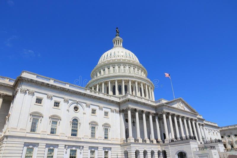 US Capitol. US National Capitol in Washington, DC. American landmark. United States Capitol stock photo