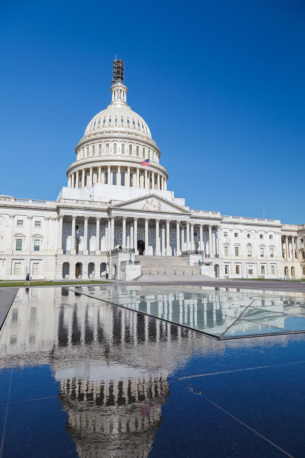 Us-Capitol, Washington DC royaltyfri bild