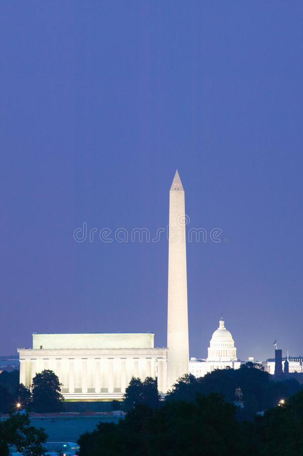 Download US Capitol And Washington Monument Stock Photo - Image of memorial, tourism: 26891902