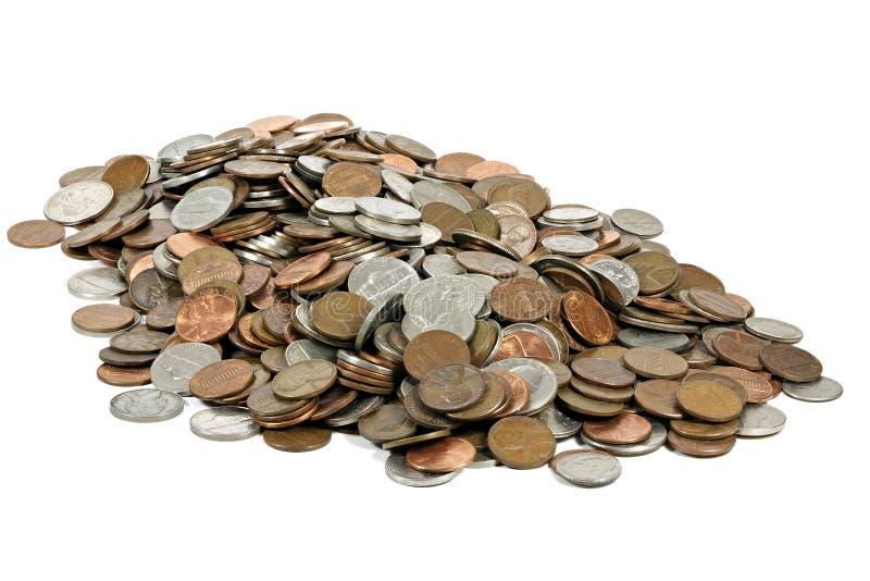 US-Cents lizenzfreie stockfotos