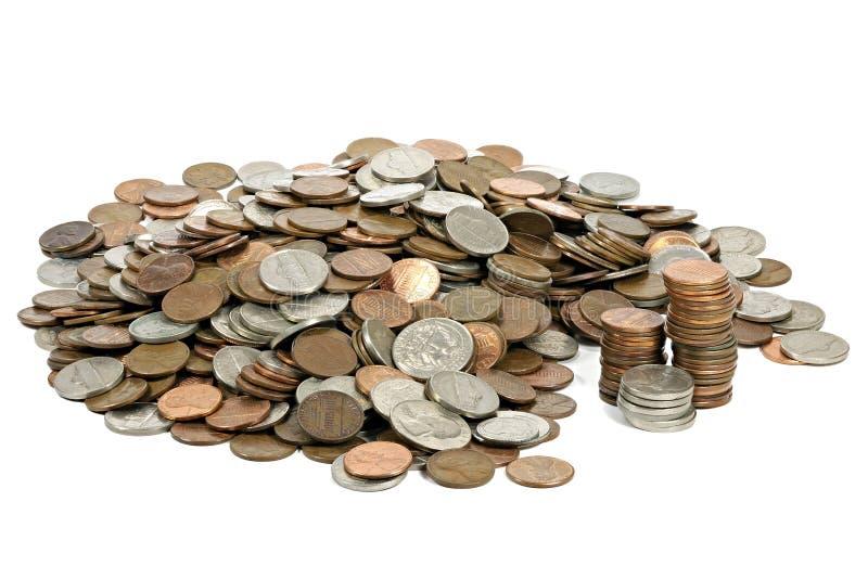 US-Cents lizenzfreies stockbild